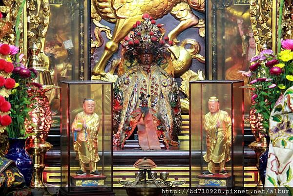 西秦王爺聖像