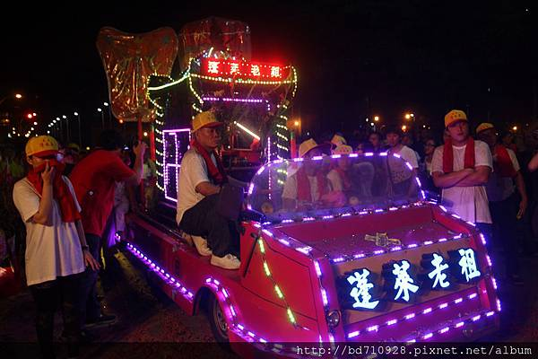 農曆五月初五端午節的晚上,清水祖師暗訪淡水地區
