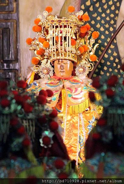 天上聖母(三媽)聖像
