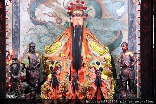 水仙尊王聖像