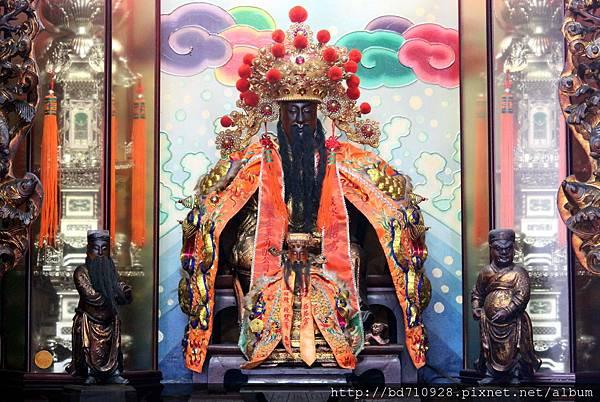霞海城隍聖像