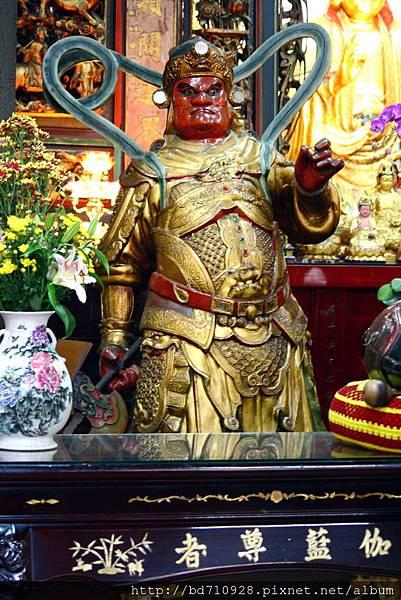 伽藍尊者聖像