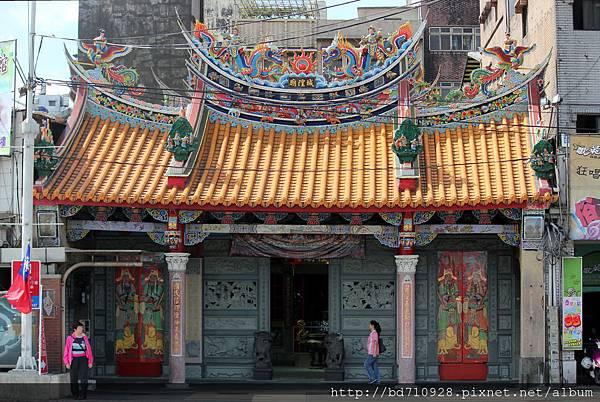 護國城隍廟廟貌