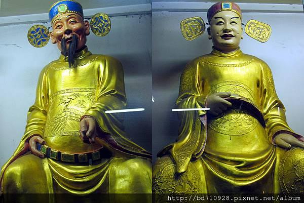 延壽司、增祿司聖像