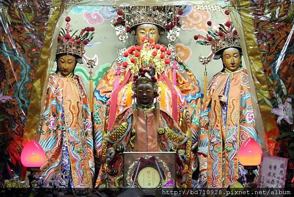 城隍夫人和城隍太子聖像