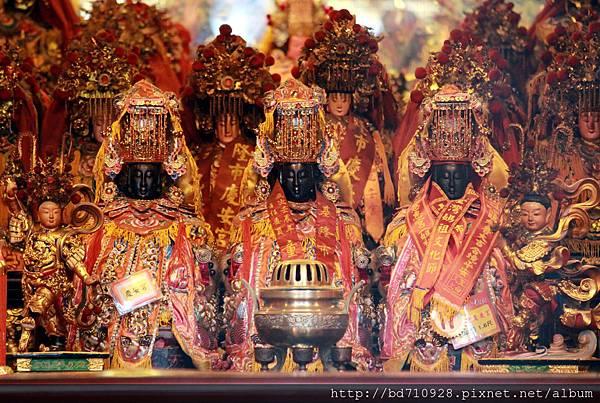慶安宮列位天上聖母聖像