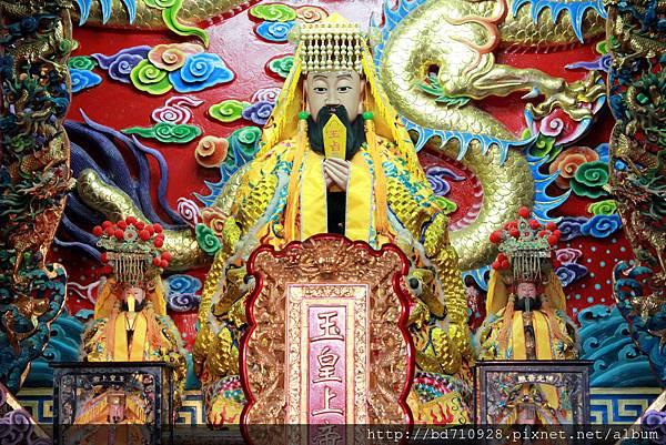 鎮殿玉皇上帝聖像