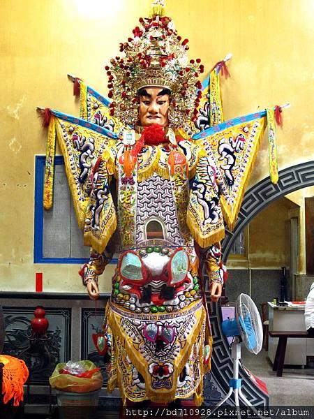 覺修宮金雞將軍神將,為田都元帥駕前護法神