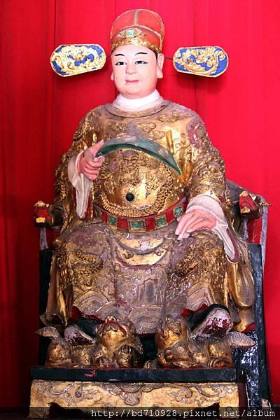 泥塑田都元帥聖像,似乎為覺修宮的開基田都元帥