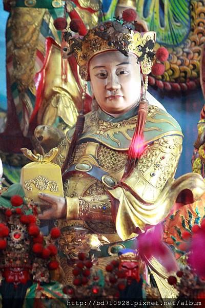 鎮殿捧印將軍聖像