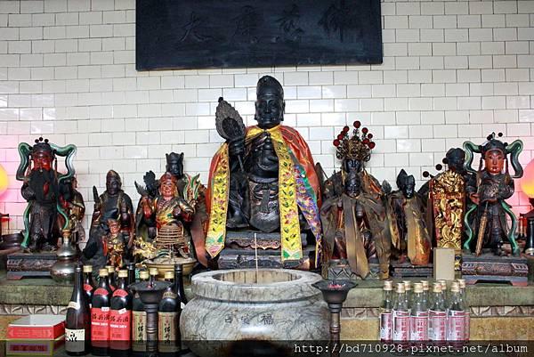 濟公禪師等列位眾神聖像