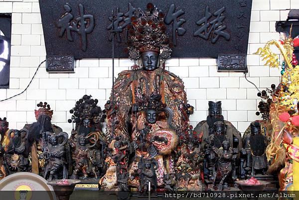 中壇元帥等列位眾神聖像