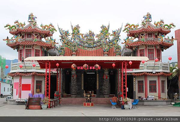 卑南南清宮廟貌