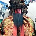 竹山連興宮開台聖王聖像