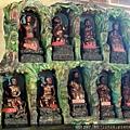 竹山連興宮後殿二樓虎側十八尊者聖像