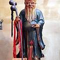竹山連興宮月下老人聖像
