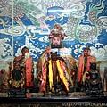 竹山連興宮列位神農大帝聖像