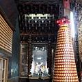 沙東宮正殿虎邊神龕,奉祀:福德正神