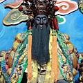 竹山沙東宮關聖帝君聖像