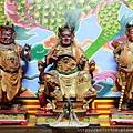 竹山沙東宮林圮將軍及左右護衛將軍聖像