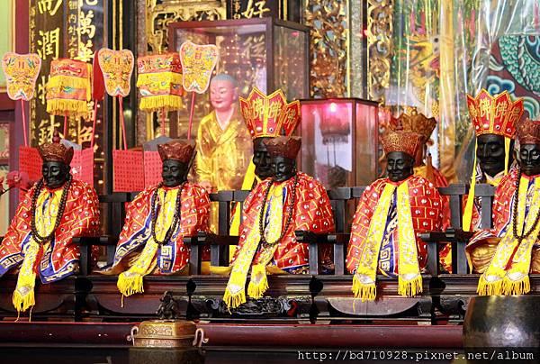 列位清水祖師聖像