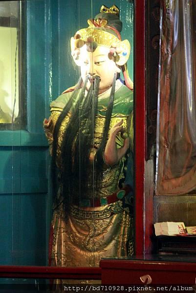 清水祖師駕前護法張將軍聖像