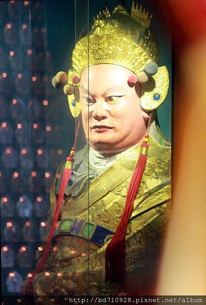 清水祖師駕前護法蘇將軍聖像