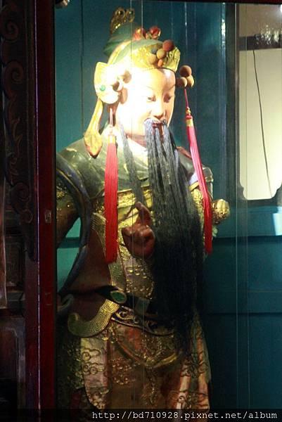 清水祖師駕前護法黃將軍聖像