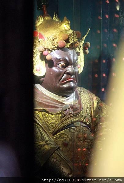 清水祖師駕前護法李將軍聖像