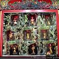 五福宮後殿二樓虎側十八尊者聖像