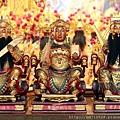 三重南聖宮北路財神、西路財神、中路財神聖像