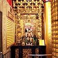 南聖宮正殿虎邊神龕,奉祀:關聖帝君