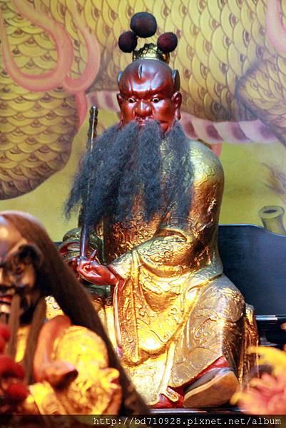 王靝君聖像