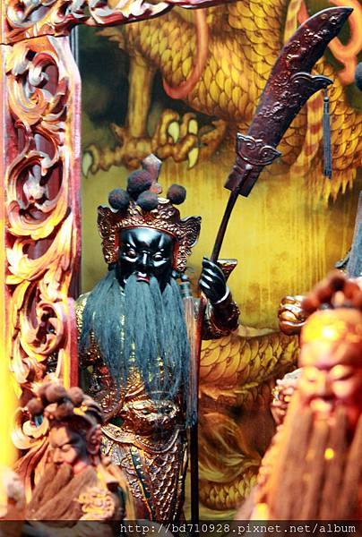 鎮殿周倉將軍聖像