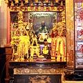 福和宮正殿虎邊神龕,奉祀:張祖師