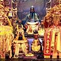 福和宮正殿虎邊神龕列位神佛聖像