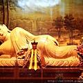 中和福和宮佛祖殿釋迦牟尼臥佛聖像