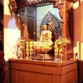 福和宮佛祖殿虎邊神龕,奉祀:藥師佛