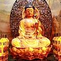 中和福和宮佛祖殿藥師佛祖聖像
