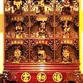 中和福和宮佛祖殿龍側十八羅漢尊者聖像