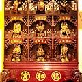 中和福和宮佛祖殿虎側十八羅漢尊者聖像
