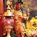 中和福和宮文昌殿武奏官聖像