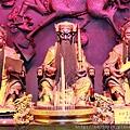 中和福和宮五路財神殿西路財神、中路財神、南路財神聖像