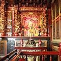 山腳廣福宮二樓正殿龍邊神龕,奉祀:清水祖師