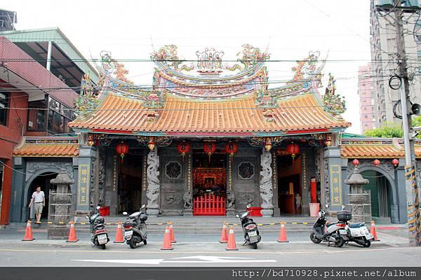 中和廣濟宮廟貌