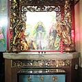 福壽宮正殿龍邊神龕,奉祀:關聖帝君