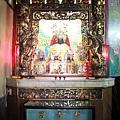 福壽宮正殿虎邊神龕,奉祀:天上聖母