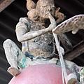 金亭上方李鐵拐仙祖神像