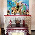 五谷金聖殿正殿虎邊神龕,奉祀:金面關聖帝君