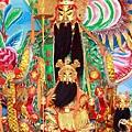 汐止五谷金聖殿鎮殿金面關聖帝君聖像
